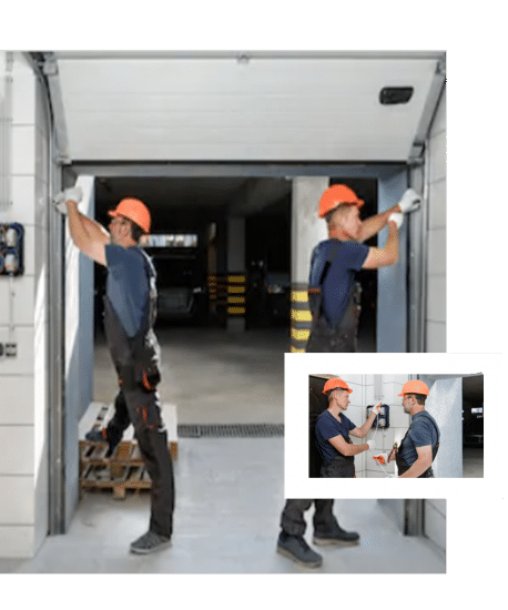 garage door repair and installation company in castle rock
